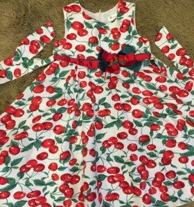 Платье летнее на 4-6 лет