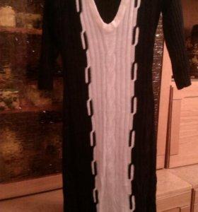 Платье вязанное р.40-44