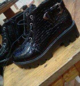 Ботинки на плотформе