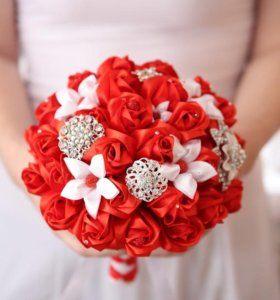 Изготовляю букеты для невесты