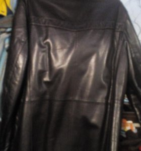 Куртка классическая кожанная