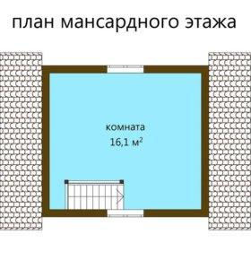 "Дачный дом ""Маруся"" Б-100 6х4"