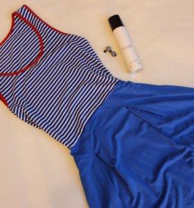 Платье морячка синее 42-46