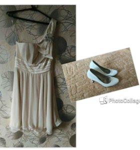 Вечернее платье+ туфли