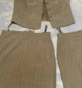С&A жакет и две юбки