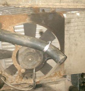 Ваз 2109.Вентилятор.