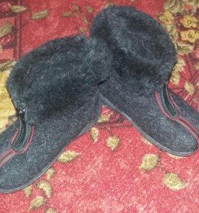 Детские вещи ботиночки 450 пуховик 800