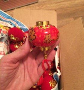 Китайские новогодние шарики, 32 шт.