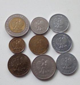 Монеты иностранцев