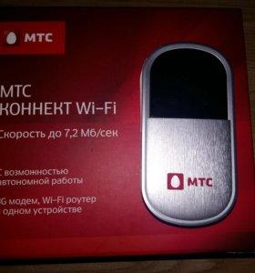 Переносной wi-fi роутер.