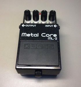 Педаль Distortion Boss Metal Core ML2