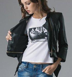 Пиджак кожаный MANGANO