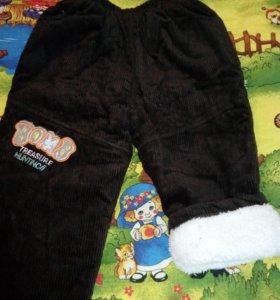 Новый зимний костюм на мальчика вельветовый