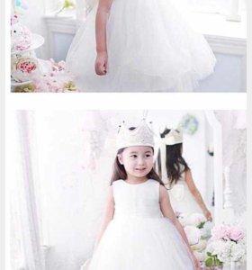 Снежинка платье