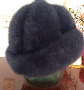 Норковая шапка 56