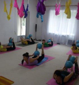Йога Пилатес Воздушная йога Фитнес Танцы