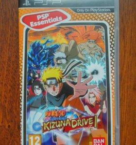 Naruto Shippuden Kizuna Drive игра PSP
