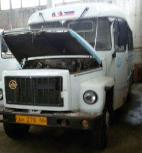 Автобус Кавз - 397620. 4 250 куб. см.