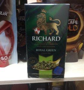 Чай Richard green royal