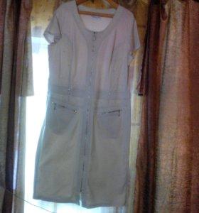 Платье новое,размер 56,58
