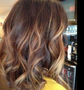 Окраска волос профессионально.