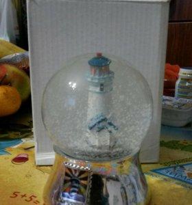 Снежный шар желаний!счастье!:)))