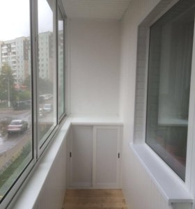 Натяжные потолки, балконы, окна ПВХ, двери.