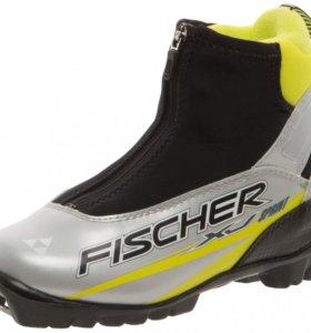 """Продам детские лыжные ботинки """"FISCHER"""" 36 р."""