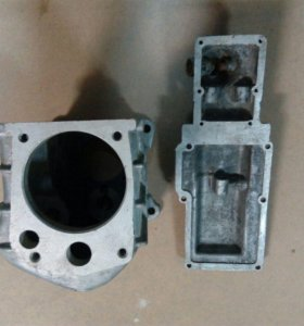 Корпус коробки передач на ГАЗ 31029.