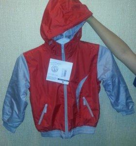 Весенняя курточка на мальчика 2,5-3 лет