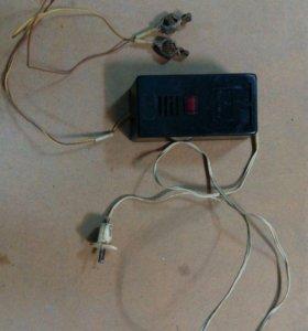 "Зарядное устройство 6В марки ""Электроника-4""."