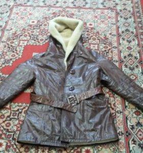 Куртка из овчины натуральная