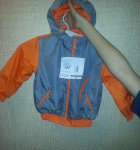 Весенняя курточка на мальчика 2-2.5 лет