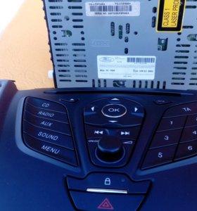 Штатная магнитола с блоком управления форд куга 2