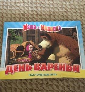 Новая настольная игра Маша и Медведь
