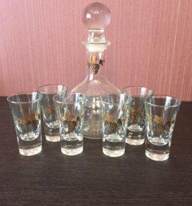 Подарочный набор. Графин +6 стаканов