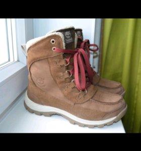 Ботинки Timberland Waterproof женские зимние 38 р.