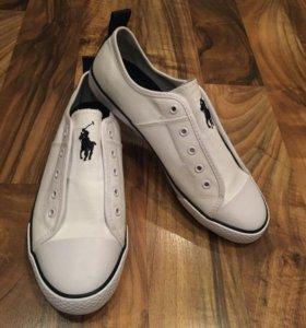 Новые белые кеды Polo Ralph Lauren (оригинал)