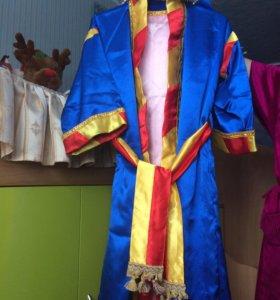 Праздничный костюм в роли волхва-девочка 7-11лет.