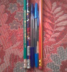 Ручки карандаши