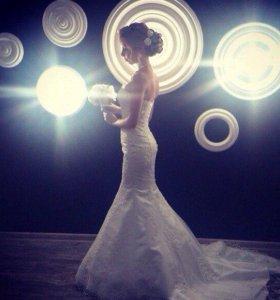 Свадебное платье, цвет ivory