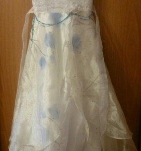Новогоднее, бальное платье