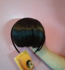 волосы (челка на ободке)