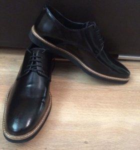 Кожаные туфли бренд Asos