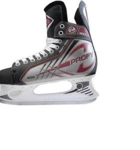 Коньки хоккейные р38