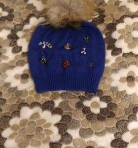 Осенняя шапка(торг)