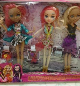 Набор из 5 кукол с аксессуарами