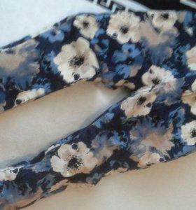 Зимние Джинсовые штаны
