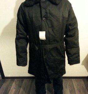 П/пальто мужское зимнее,овчина. Новое