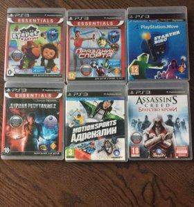 6 дисков для PS3